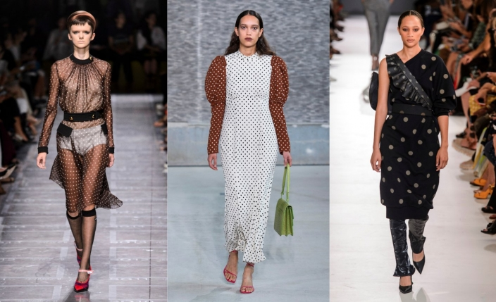 Modna sukienka w groszki na lato 2019: wybieramy 10